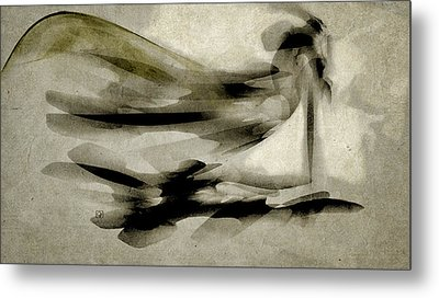 Metal Print featuring the digital art The Sentinel by Jean Moore