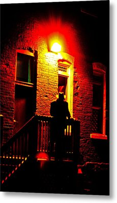 Metal Print featuring the photograph The Shadow by Randall  Cogle