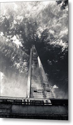 Metal Print featuring the photograph The Shard And London Bridge by Lenny Carter