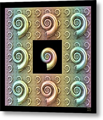 The Shell Metal Print by Manny Lorenzo