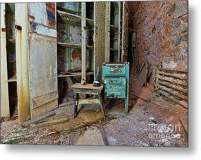 The Shoemaker Metal Print by Paul Ward