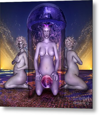 The Shrine Of Life Metal Print