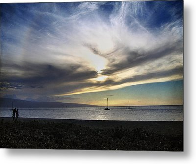 The Sky Is Exploding Metal Print by Laurie Search