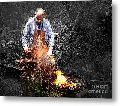The Smith Metal Print by William Fields