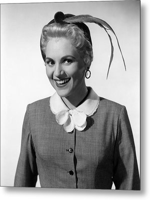 The Solid Gold Cadillac, Judy Holliday Metal Print by Everett