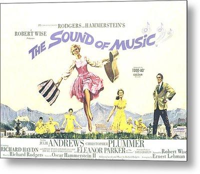 The Sound Of Music, Julie Andrews Metal Print