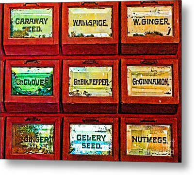 The Spice Of Life Metal Print by Colleen Kammerer