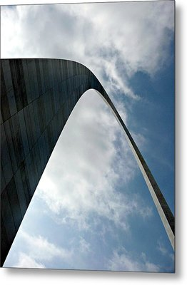 The St. Louis Arch Metal Print