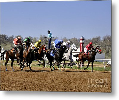 Metal Print featuring the photograph The Starter by Nava Thompson