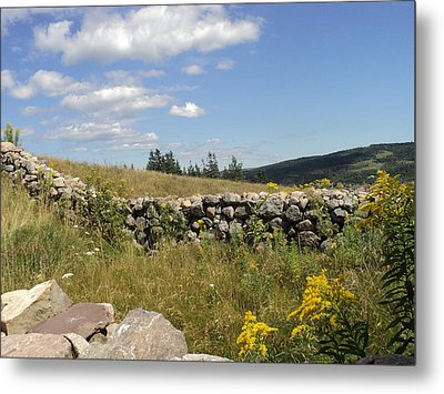 The Stone Fence Metal Print