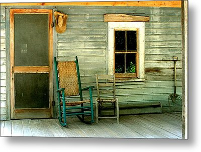 Metal Print featuring the photograph The Stories They Could Tell by Myrna Bradshaw