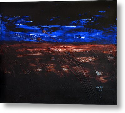The Storm Metal Print by Mauro Celotti
