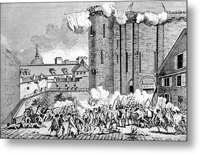 The Storming Of The Bastille, 1789 Metal Print by Everett