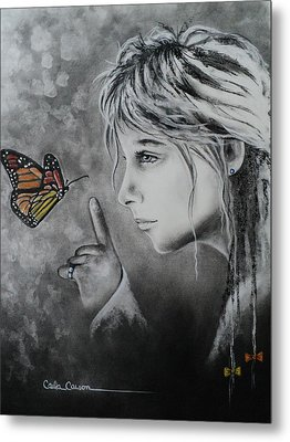 The Story Of Me Metal Print by Carla Carson