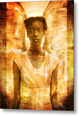 The Strength Of Angels Metal Print