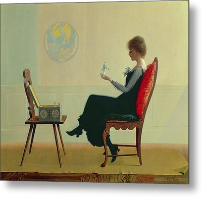 The Suitors Metal Print by Harry Wilson Watrous