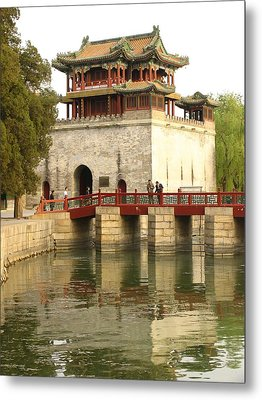 The Summer Palace Metal Print by Richard Nowitz
