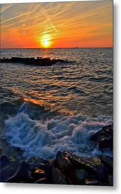 The Sun Is Wearing Shades Metal Print by Frozen in Time Fine Art Photography