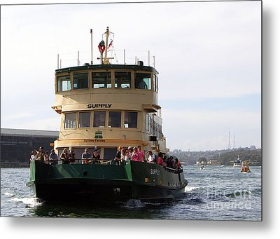 The Sydney Harbour Ferry Supply Metal Print