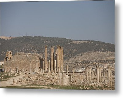 The Temple Of Artemis In The Ruins Metal Print by Taylor S. Kennedy