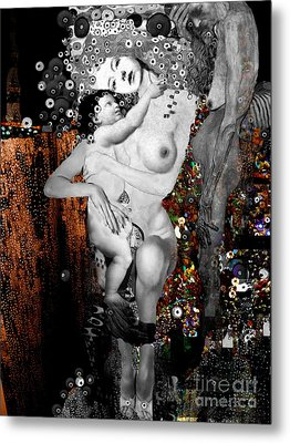 The Three Ages Of Woman Metal Print