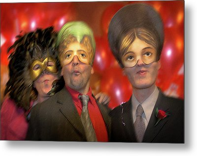 Metal Print featuring the photograph The Three Masketeers by Richard Piper