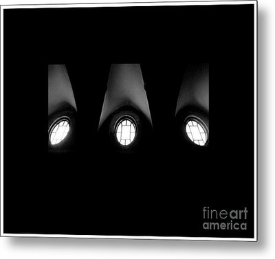 The Three Windows Of East View  Metal Print by Tammy Cantrell