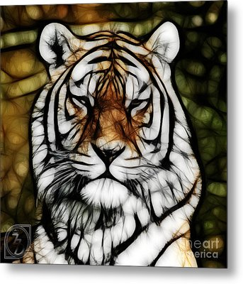 The Tiger Metal Print by The DigArtisT
