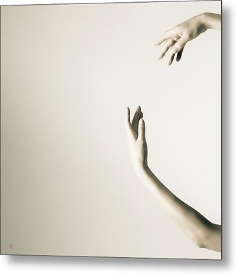 The Tilt Hands Metal Print by Nikolay Krusser