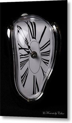 The Timepiece Metal Print