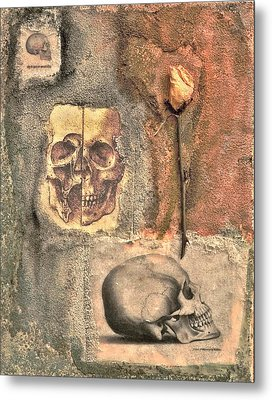 The Tomb Metal Print by Catherine Conroy