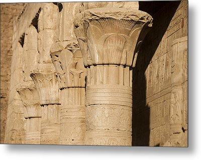 The Tops Of The Pillars Of The Temple Metal Print by Taylor S. Kennedy