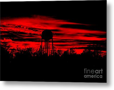Metal Print featuring the photograph The Tower by Tamera James