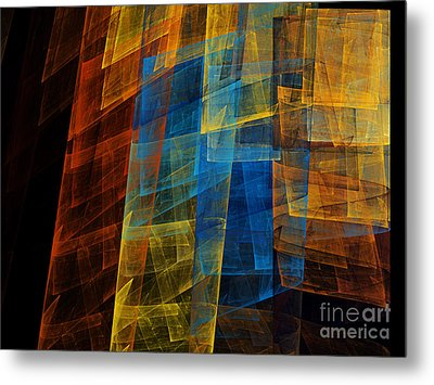 The Towers 1 Metal Print by Andee Design