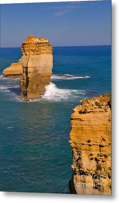 The Twelve Apostles In Port Campbell National Park Australia Metal Print by Louise Heusinkveld