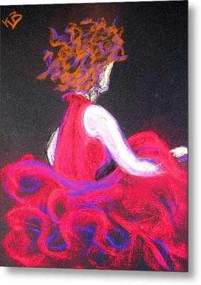 The Twirl Metal Print