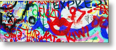The U2 Wall, Windmill Lane, Dublin Metal Print by The Irish Image Collection