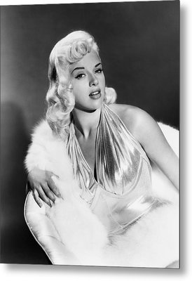 The Unholy Wife, Diana Dors, 1957 Metal Print by Everett