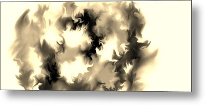 Metal Print featuring the drawing The Unknown by Lori  Lovetere