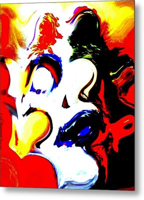 The Unmasking Of Youth Metal Print by Jackie Bodnar