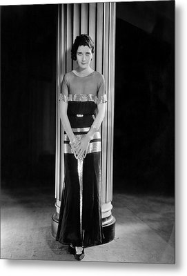 The Vice Squad, Kay Francis, 1931 Metal Print by Everett