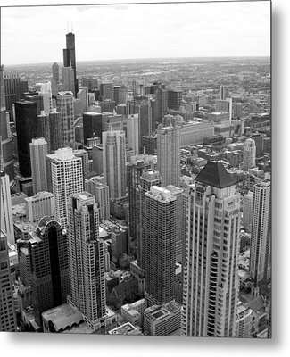The View From Above Metal Print