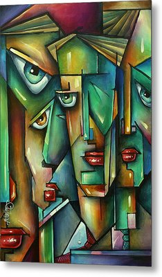 The Wall Metal Print by Michael Lang