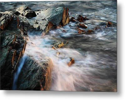 The Wash Metal Print by Andrew Pacheco