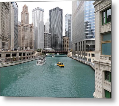 The Waterway Metal Print by Val Oconnor