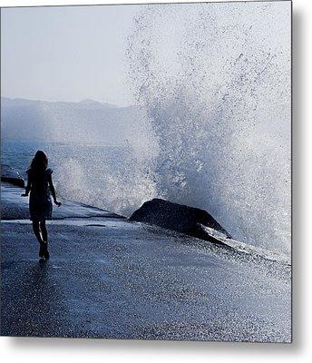 The Wave Metal Print by Joana Kruse