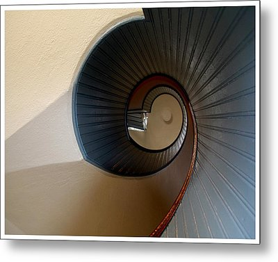 The Way To The Light Metal Print by Frank Wickham