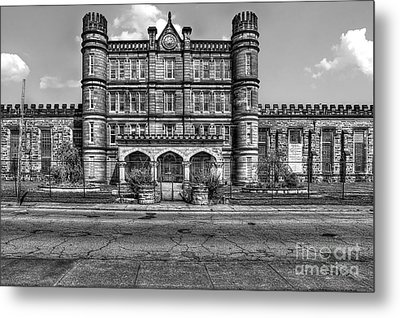 The West Virginia State Penitentiary Front Metal Print by Dan Friend