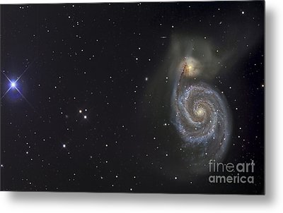 The Whirlpool Galaxy Metal Print by R Jay GaBany