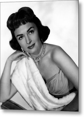 The Whole Truth, Donna Reed, 1958 Metal Print by Everett